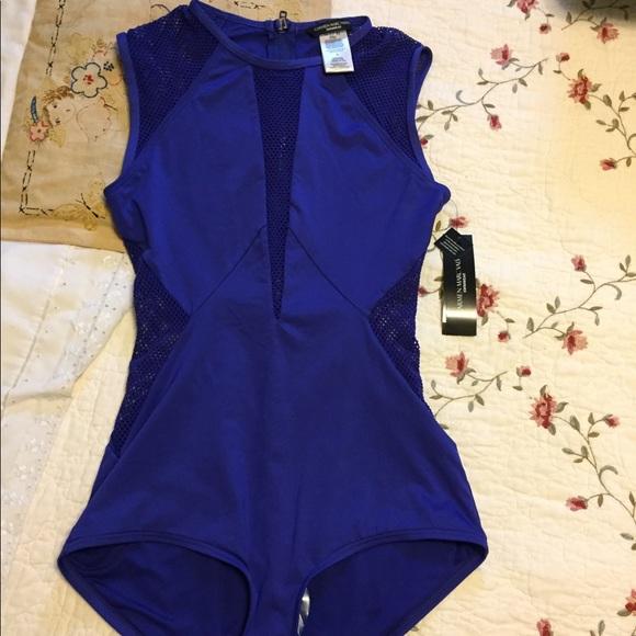 d952153212 Carmen Marc Valvo Swim | City Slick Mesh Suit Sz 8 | Poshmark
